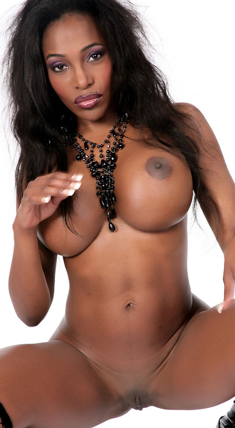 Black thick girl in pant nude