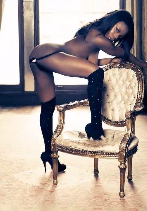 A gallery of black models
