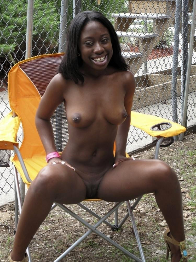 africa in Naked woman black